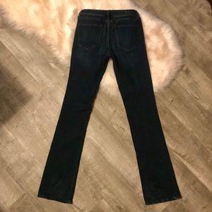 Like New A&F Harper Skinny Bootcut Jeans